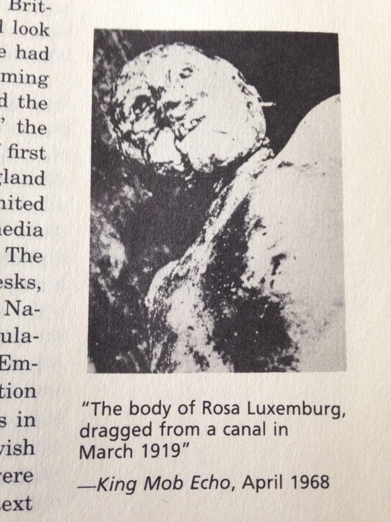 Rosa Luxemburg's corpse