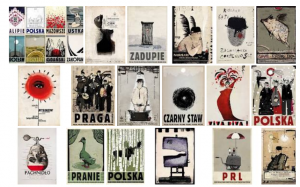 Sampling of the poster work of Ryszard Kaja